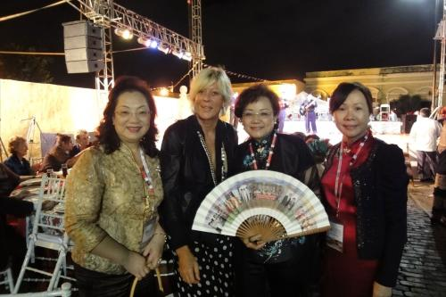 **1st Nov. 2011 : The 59th FCEM World Congress hosted in Merida, Mexico. **2011-11-01世界女企業家協會(FCEM)於墨西哥Merida舉行59週年年會
